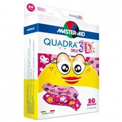 Plastry Uniwersalne Quadra Girls Małe 20szt.