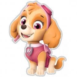 Psi Patrol Skye Naklejka na ścianę