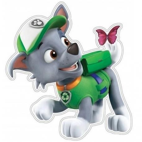 Psi Patrol Rocky Naklejka na ścianę